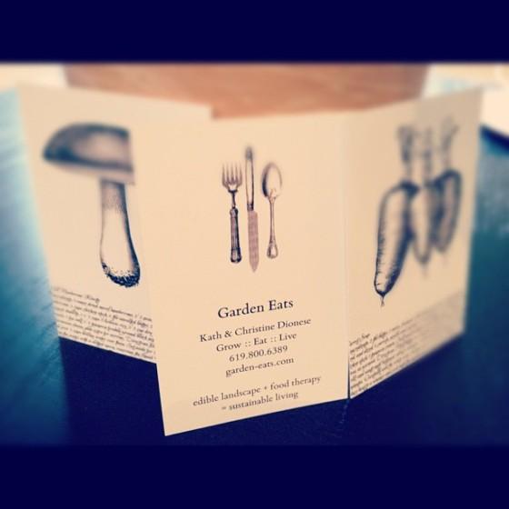 Garden Eats Business Cards