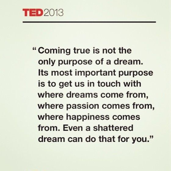 TED Coming True Reaching Beyond Now